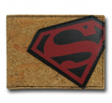 Superman Cork Wallet